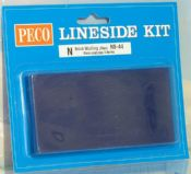 Peco NB44 Blue brick walling sheets - reduced